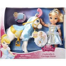 DISNEY Coffret Poupée CENDRILLON et son cheval 34 cm  Princesses NEUF