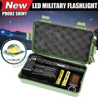 8000LM G700 CREE XM-L2 T6 LED Zoom Tactical Military Flashlight Super Torch Set