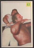 1955 Parkhurst Wrestling #63 Mike Sharpe