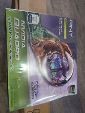 NOS PNY Nvidia Quadro NVS 450 512MB x16 Video Graphics Card VCQ450NVS-X16-PB