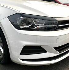 Sopracciglia VW POLO 2019+palpebre fari ABS Ciglia Nero Lucido GTI R Line Gti