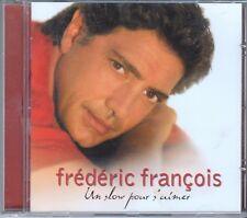 """CD ALBUM  FREDERIC FRANCOIS """"UN SLOW POUR S'AIMER"""""""