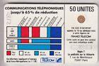 VARIETE TELECARTE CORDON BLANC .. 50U Ko58 SC4OB V° 85+2 N° STYLET 1/2 IMP. C.?€