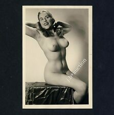 #244 RÖSSLER AKTFOTO / NUDE WOMAN STUDY * Vintage 1950s Studio Photo - no PC !
