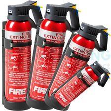 fire extinguishers on vans