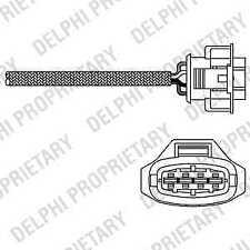Delphi Direct Fit Lambda Oxygen Sensor ES20315-12B1 - 5 YEAR WARRANTY