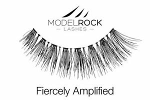 Modelrock Signature Fiercely Amplified - Fake False Lashes 100% Human Hair