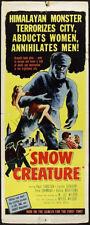 Snow Creature Movie Poster Insert 14x36 Replica
