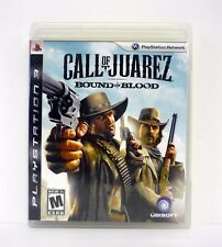 CALL OF JUAREZ: BOUND IN BLOOD Playstation 3 PS3 Game COMPLETE w/MANUAL 2009