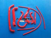 RED For FORD FALCON AU 1/2 LPG XR6 4.0 6CYL YTR Silicone Radiator Hose 1998-2002