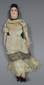 Mexico Mexican Spanish Style Aristocratic  Manola Doll Ex. Newark Museum Coll.