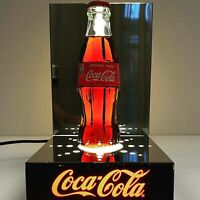 Insegna luminosa espositore CocaCola  lighted sign expositor vintage bottle
