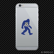 Connecticut Bigfoot Cell Phone Sticker Mobile CT big foot sasquatch yeti