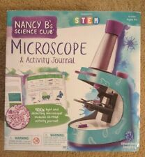 Microscope and Activity Journal Nancy Bs Science Club 22 Page Journal