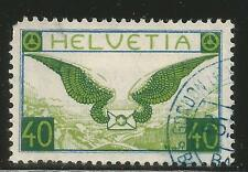 Switzerland 1929-30 40c Airmail--Attractive Topical (C14) used