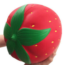 Jumbo Super Giant relax  Strawberry Fruit Slow Rising Squeeze Toys Best Gifts