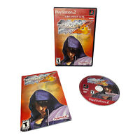 Tekken 4 Greatest Hits (Sony PlayStation 2, 2001) PS2 Complete w/ Manual TESTED
