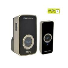 Lloytron B7525 Digital MP3 Plug-in inalámbrico de puerta Swann con sistema de timbre MIPS