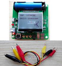 2015 GM328 ESR Meter Transistor Tester Diode Triode Capacitance SCR Inductance