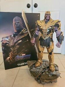 THANOS (DELUXE) 1/4 Legacy Replica Statue Iron Studios Avengers: Endgame Marvel