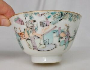 Chinese Famille Rose Porcelain Rice Bowl - 84487