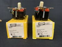HUBBELL CS1221I SWITCH IVORY SINGLE POLE 20A 120-277VAC (Lot Of 2 ) NIB