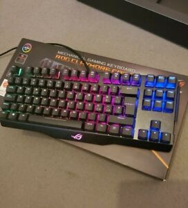 ASUS ROG Claymore Core 80% TKL Cherry MX Red RGB Mechanical Gaming Keyboard IT