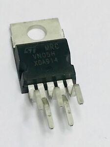 5pcs- VN05H, MFR= ST,  IC, Power Switch, Hi Side, 1.4A, 5-Pin(5+Tab), PENTAWATT