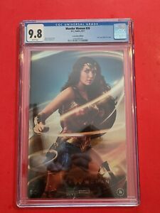 Wonder Woman #26 🗡 CGC 9.8 2017 DC Foil Convention Photo Variant Gal Gadot WW84