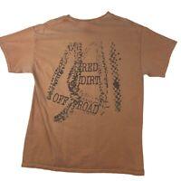 Red Dirt Shirt Hawaii Maui Kauai Dyed With Dirt Original DIRT SHIRT Large