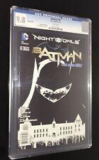 Batman #9 CGC 9.8 1:200 Sketch B&W Variant Snyder Capullo New 52 Court of Owls