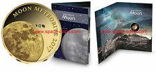 2017 Tschad, Mond Meteorit, 3000 Francs, Gold! Goldmünze! Chad Lunar Meteorite