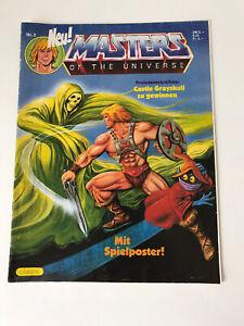 Masters of the Universe Comic MotU Vintage Rar 1987 Nr.2 Ehapa Verlag Top