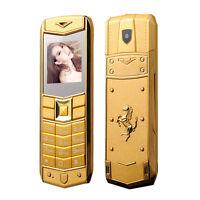 Luxury A8 Mobile Phone Dual SIM 1.5 Inch Mini Metal Dody Phone Multi Language