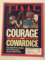 Time Magazine Courage & Cowardice Flight 800 August 5, 1996 060119nonrh