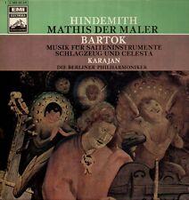 Hindemith-Mathis le peintre, Bartók LP, Karajan, Berliner philharmonique