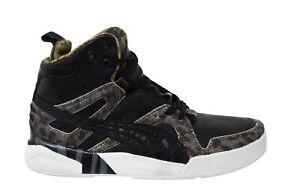 Puma Ftr Trnmc Slipstream Lite Hi Top Black Leather Lace Up Trainers 355644 01
