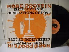 More Protein Jesus loves you-Generations of love  1990   LP 33 Giri (BX66)
