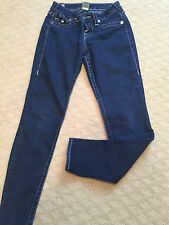 TRUE RELIGION DENIM JEANS SIZE 28 MADE IN USA GREAT CONDITION FAST SHIPPING!