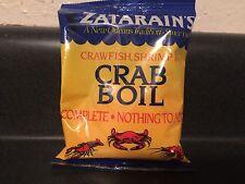 ZATARAIN'S CRAWFISH, SHRIMP CRAB BOIL Cajun Creole Louisiana recipes Seasoning