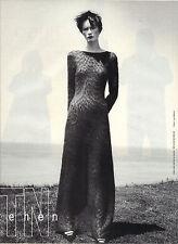 PUBLICITE ADVERTISING  1994   THE TEN  haute coutre robe longue