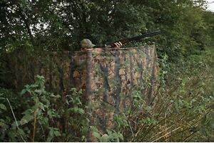 JACK PYKE 4 M CLEARVIEW HIDE NET Tree Camo shooting hunting camouflage netting