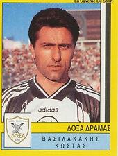 N°086 PLAYER DOXA DRAMA GREECE HELLAS PANINI GREEK LEAGUE FOOT 95 STICKER 1995