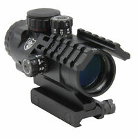 CCOP Tactical Prism Scope SCP-P3032i 3x 32mm Red Green Illuminated CQB Reticle