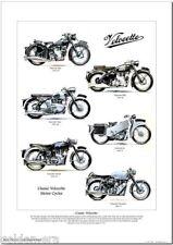 CLASSIC VELOCETTE MOTOR CYCLES  Fine Art Print - Mac MSS Viper Venom LE Thruxton