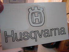 Husqvarna Husky '74 250 Mag Tank Decals - sold in pairs vintage Style