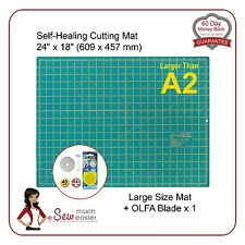 Self-Healing Cutting Mat > A2 and OLFA 45mm Blade for rotary cutter spare blades