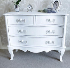 White French Sideboard Shabby Chic Furniture Large Chest Drawer Antique Vintage