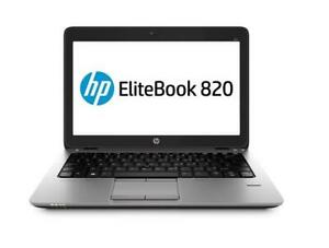 12.5 HP ELITEBOOK 820 G2 Intel Core i5 5300U(2.3GHz), 4GB, 128GB, WIN 10 PRO