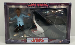 """JAWS Toony Terrors JAWS & QUINT 6"""" Scaled Action Figure 2-Pack Set"""